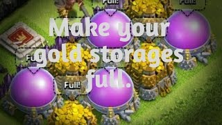 Farming strategies for TH7 and TH8 clash of clans