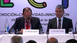 Inauguración del 45 Congreso Nacional de la Conferencia Española de Centros de Enseñanza CECE