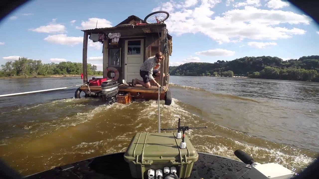 Guttenberg Shanty Boat Youtube
