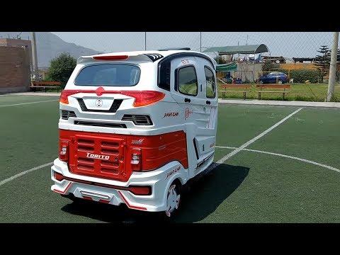 New Bajaj AC Auto Rickshaw Modified to 3 wheeled auto  ( Awesome Modification ) CAR CARE TIPS