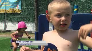 Montigny-le-Bretonneux : Les vacances ont débuté avec l'été en sable