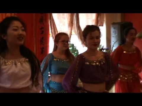 2016英国曼城中医大会 舞蹈 Prince Ali 表演者 Kate Vicky Chloe Mia Anoushka Abigail Sophie(解余宏 拍摄上传 Dr Yuhong Xie)