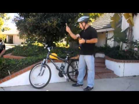 видео: Электровелосипед из шуруповерта