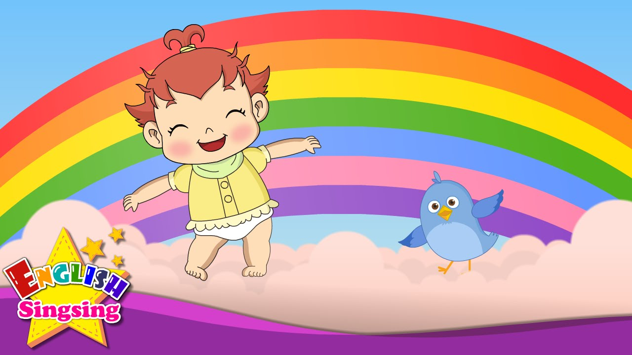 i can sing a rainbow rainbow song color song nursery rhymes
