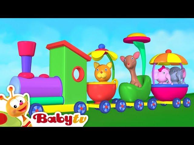 Toy Train for kids   Playground of Toys for Children   BabyTV