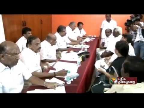 Tamil Manila Congress leader G.K. Vasan regarding the reservation issue