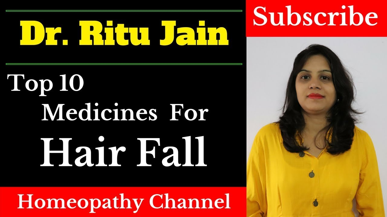 Top 10 Homeopathic Medicine For Hair Fall,Loss and Dandruff,Hair Fall  Control Treatment in Hindi