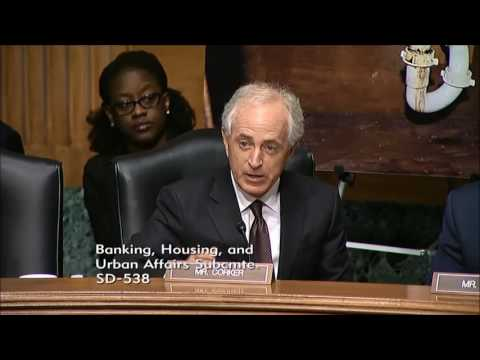 Senator Corker in Banking Subcommittee Hearing on HUD Oversight