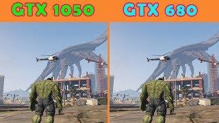 GTX 1050 2 GB vs GTX 680 2GB   New Gaming Test FPS