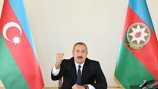 Azerbaycan Cumhurbaşkanı Aliyev: 'Karabağ bizimdir, Karabağ Azerbaycan'ındır'