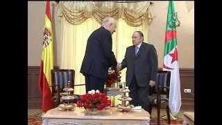 بوتفليقة يستقبل وزير الخارجية اسبانيا