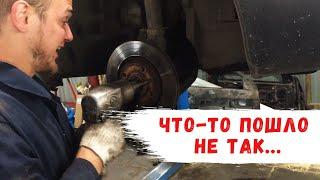 Peugeot Partner: замена подшипника ступицы и шаровых опор. Часть 2