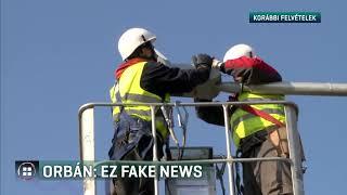 Álhírnek nevezte Orbán Viktor a vejére vonatkozó újságírói kérdést 19-10-01