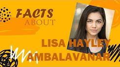 Facts About Lisa Ambalavanar