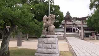 天武天皇白鳳4年に神託により宇佐神宮から分霊を迎えたのが始まりという...