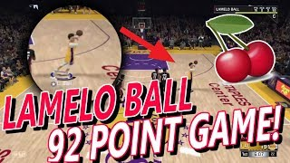 NBA2K18 MyCareer LaMelo Ball 92 Point Game Re-enactment! Most Crazy LaMelo Ball Episode Yet!
