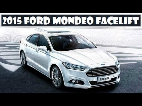 2017 Ford Mondeo Facelift Spotted The Updated Model Testing In China