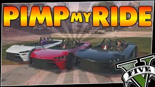 GTA 5 - Pimp My Ride #206 | HIJAK RUSTON | Car Customization Competition