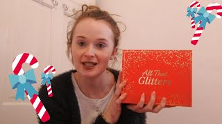 GLOSSYBOX ALL THAT GLITTERS DECEMBER UNBOXING