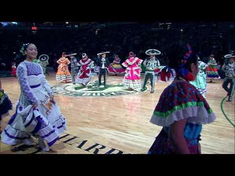 Dance Academy of Mexico 2017 Bucks Game Halftime Show