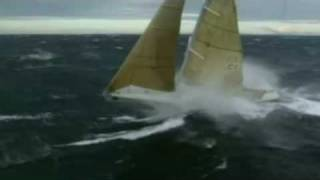 Sailing big waves