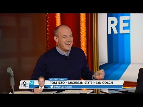 Michigan St. Head Coach Tom Izzo Talks Steve Marucci & More - 10/16/15