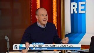 Michigan St. Head Coach Tom Izzo Talks Steve Marucci & More - 10/16/15
