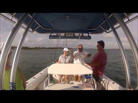 River Fishing for Pompano ~ Stuart Florida
