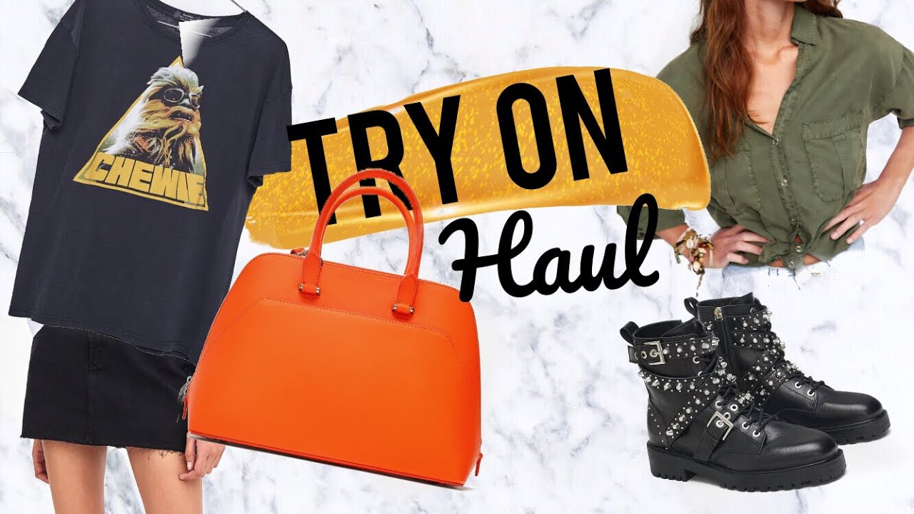 c9d381fb1ef Zara, Bershka und H&M TRY ON HAUL mit Derya I AnikaTeller - YouTube