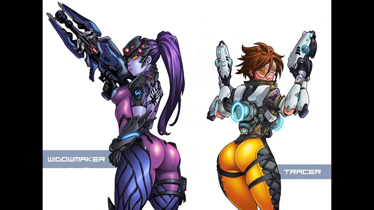 Widowmaker and tracer get it on 1