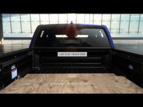 Truck Bed Dimensions >> Ridgeline Anatomy: Lay-Flat Truck Bed - YouTube