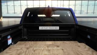 Ridgeline Anatomy: Lay Flat Truck Bed