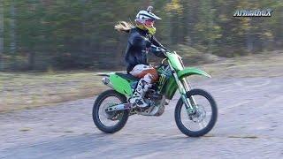 KX250F 4-Stroke Riding