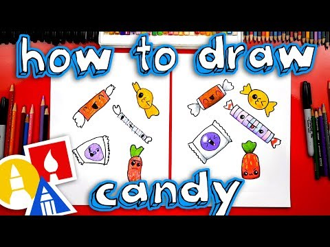 How To Draw Candy For Halloween