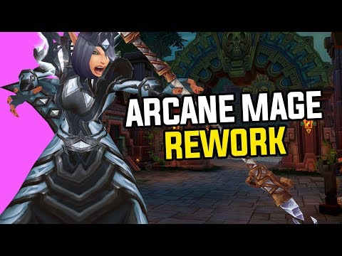 Arcane Mage Rework Gameplay in Battle For Azeroth - Complete Walkthrough