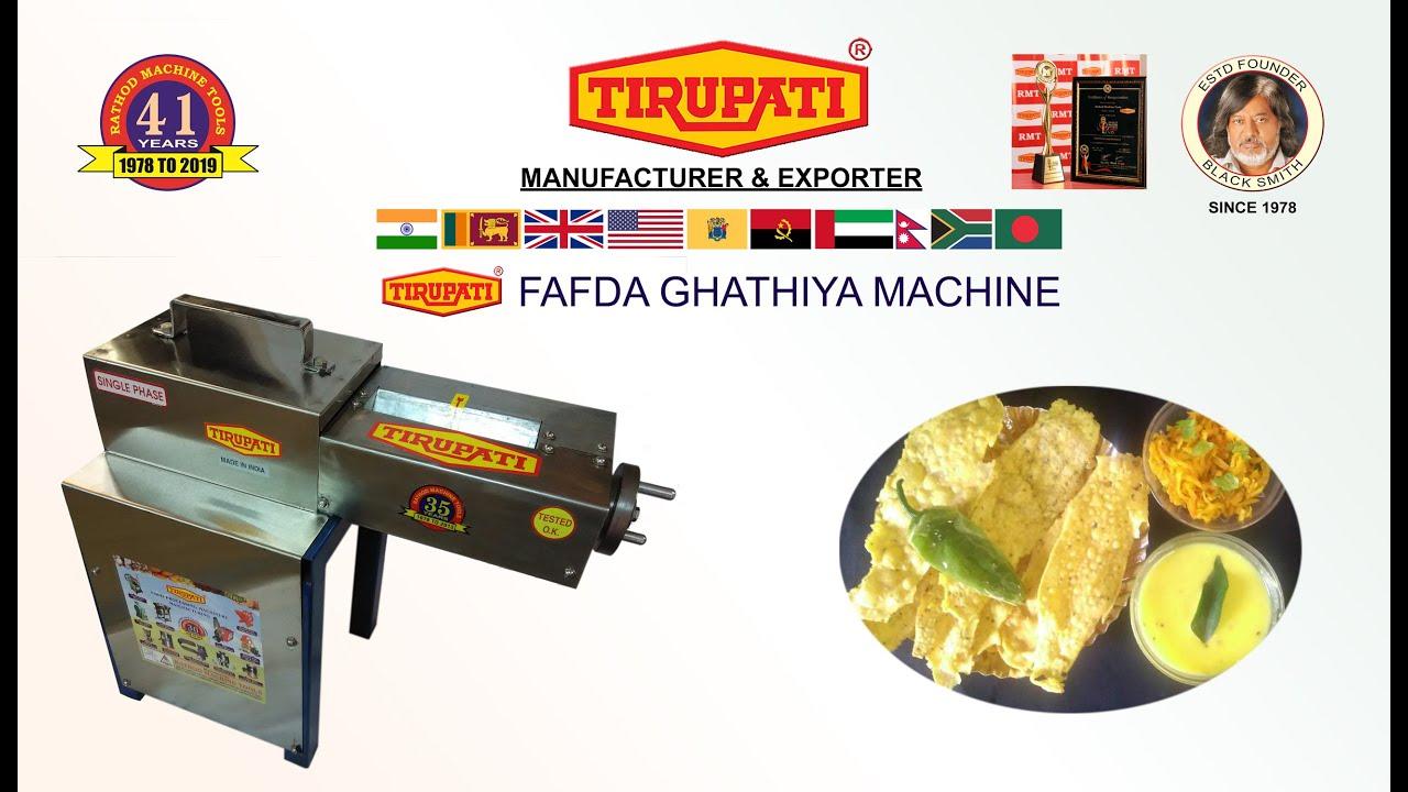 gathiya maker machine