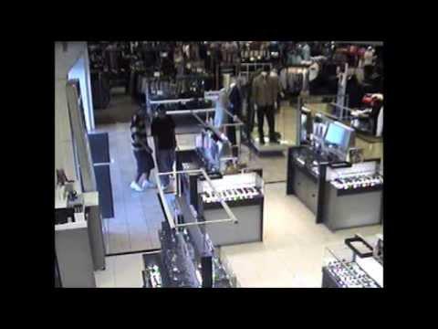 59f32f71e985 Several sunglasses stolen from Sunglass Hut inside Macy s - YouTube