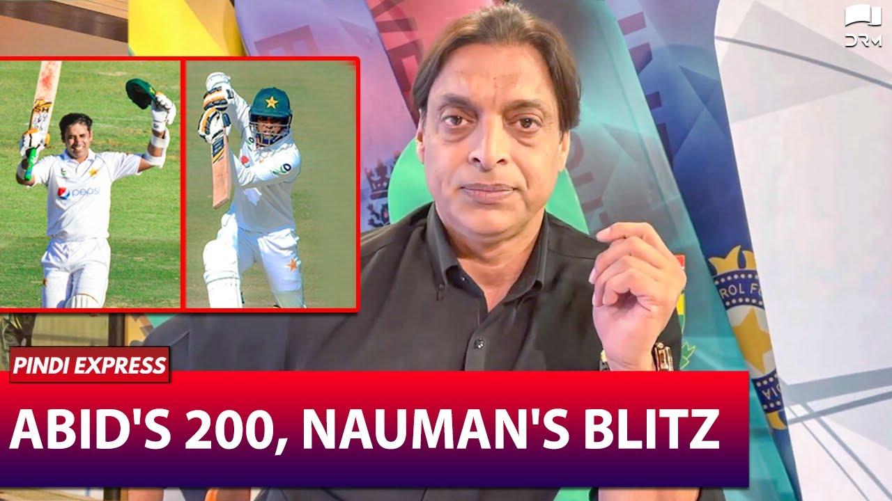 Abid's 200 & Nauman's Blitz | PAKvsZM 2021 | Shoaib Akhtar | SP1N