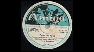Pour Toi Paris / Ursula Maury - Amiga 50/496