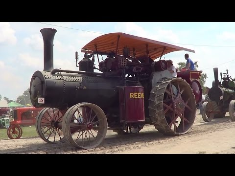 Parade Of 55 Steam Traction Engines