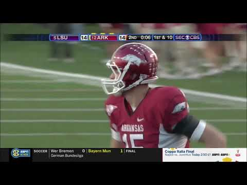 #12 Arkansas vs. #5 LSU 2010 *remastered*