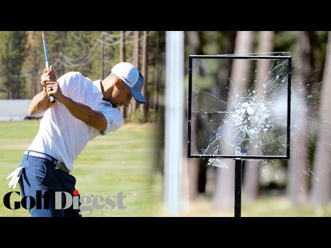 Steph Curry, Willie Robertson, and Alfonso Ribeiro Destroy Glass at Lake Tahoe | Golf Digest