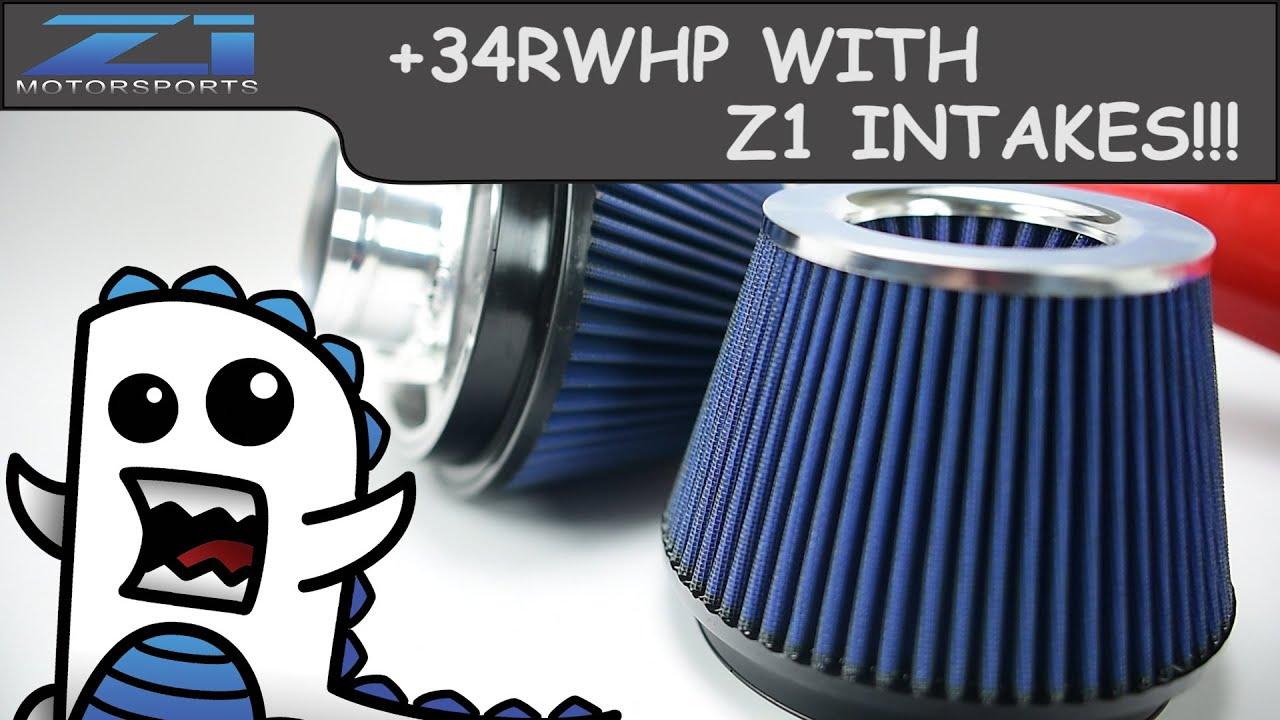 Z1 Motorsports 370Z / G37 Cold Air Intake Kit, Z1