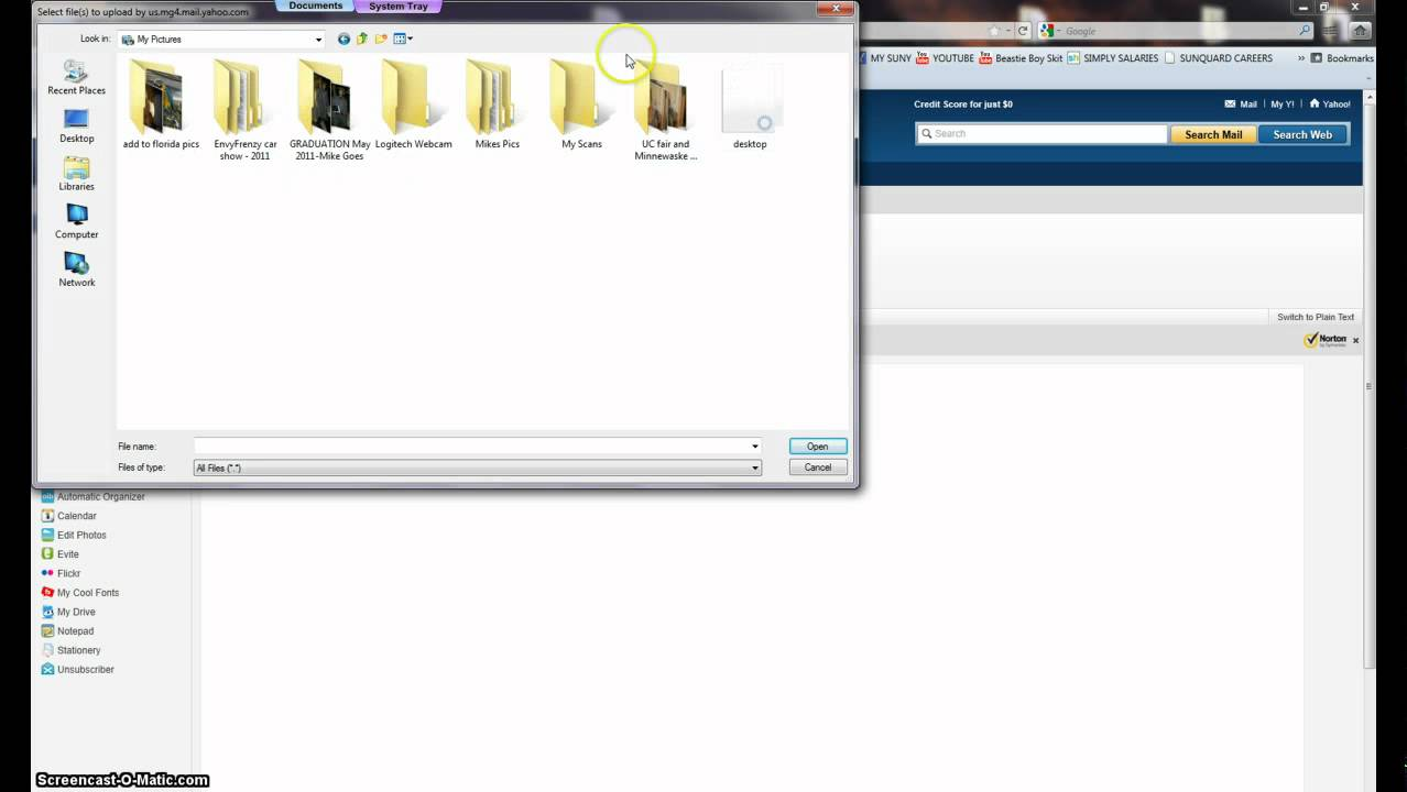 How To Attach A File To Yahoo Mail 2011