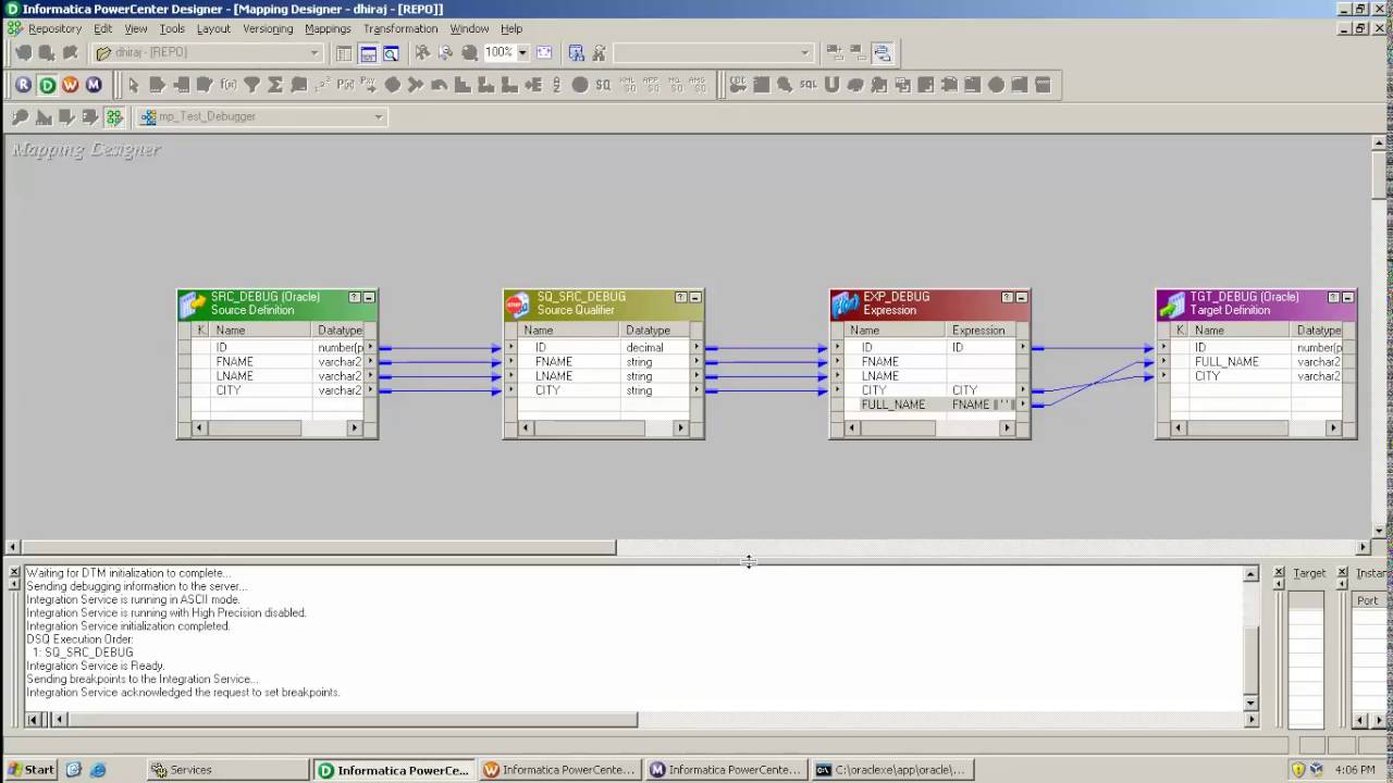 How To Use Informatica Debugger In Informatica Youtube