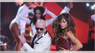 Comparan a Alejandra Espinoza con la esposa de William Levy en su baile con Pitbull en NBL