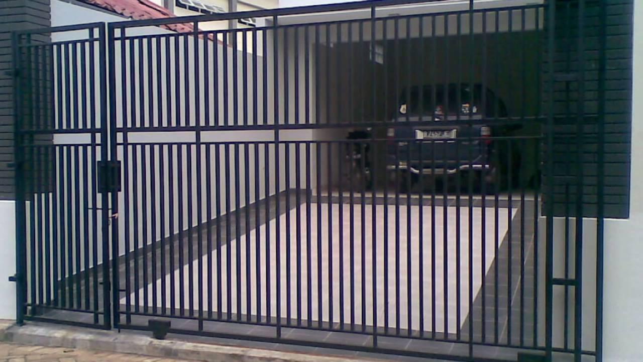 Folding Gate Paling Murah Pintu Lipat Murah Pagar Tembok