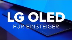 LG OLED B97LA: Flacher 65-Zoll-Fernseher im Test