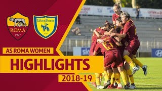 Download Video MAGNIFICENT 7! | Roma Women 7-1 Chievo, HIGHLIGHTS MP3 3GP MP4