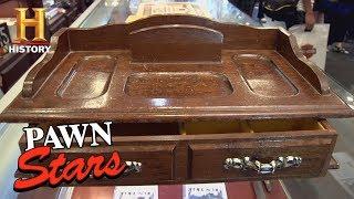 pawn stars the godfather movie prop season 8 history